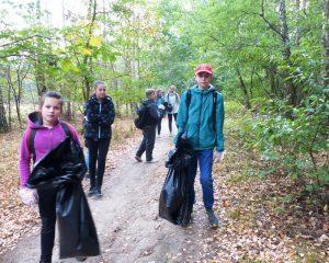 Jesiennie sprzątanie parków krajobrazowych 2016 1
