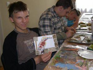 Uczniowie z Wrześni w Lądzie 2017 6