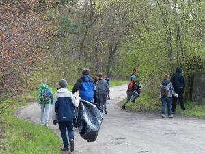 Wiosenne porządku w parkach krajobrazowych 2016 1
