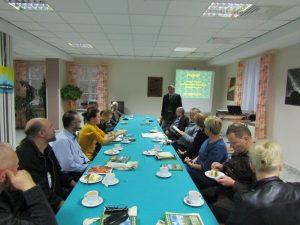 Spotkanie z nauczycielami w Chalinie 2016 1