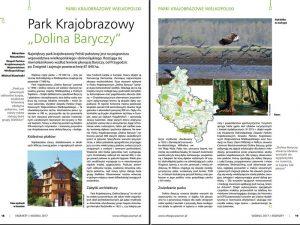 Artykuł o Parku Krajobrazowym Dolina Baryczy w Eko Faktach 2017 1