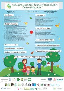 Wielkopolski Dzień Ochrony Środowiska 2017 plakat