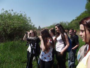 Młodzież z ZSR w Kaczkach Średnich odwiedziła Ląd 2017 4